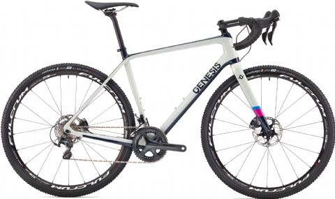 Genesis Vapour Carbon CX 30 Cyclo-X Bike Grey 2018